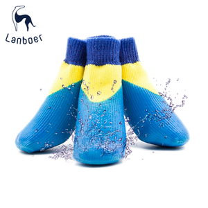 Lanboer Pet Custom Dog Waterproof Socks